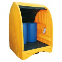 Box de rétention PE 4 fûts